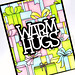 Warm Hugs card closeup