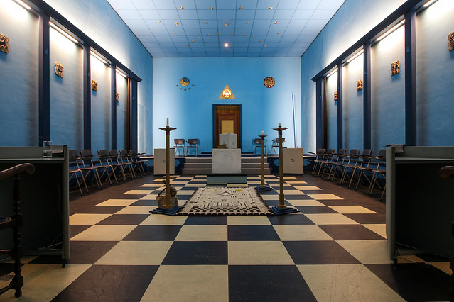 Delft, in the masonic lodge, the Netherlands