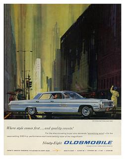 1962 Oldsmobile Ninety-Eight Holiday Sports Sedan
