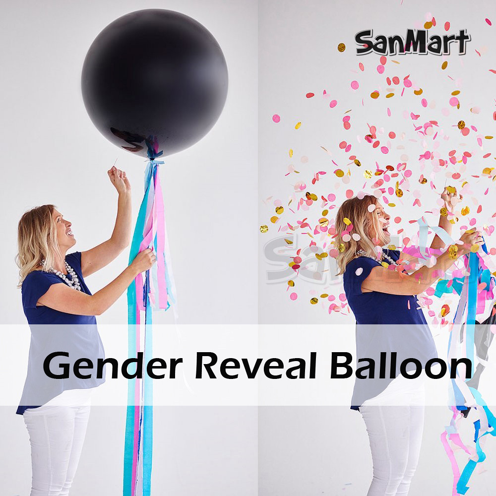 Gender-Reveal-Balloon-Black-Reveal-Party-Balloon-with-Confetti-Birthday-Balloons-for-Baby-Shower-Party