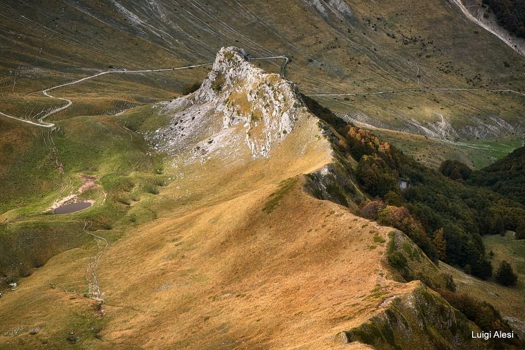 Sibillini national park - da cima di Passo Cattivo