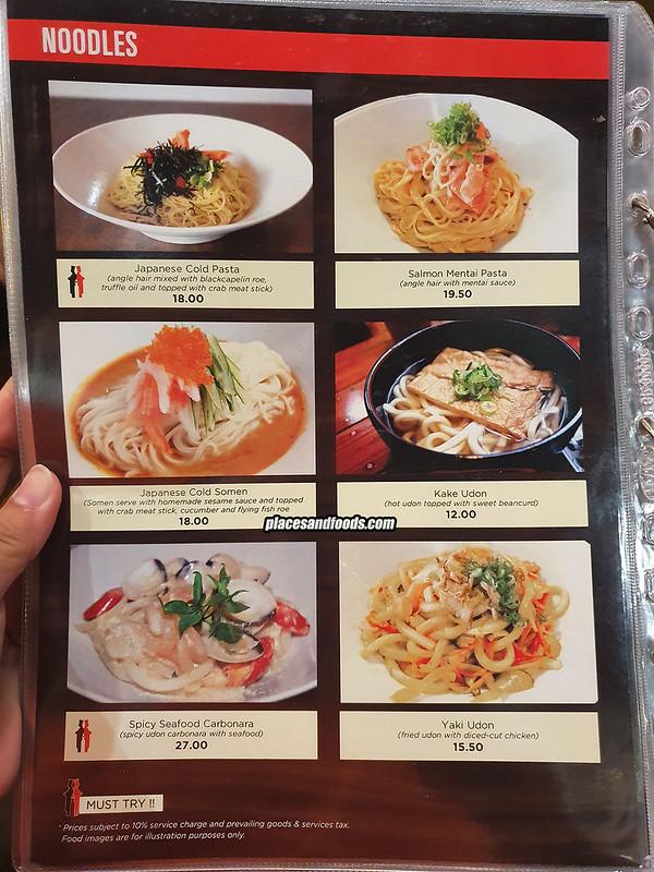 two chefs lab menu pasta
