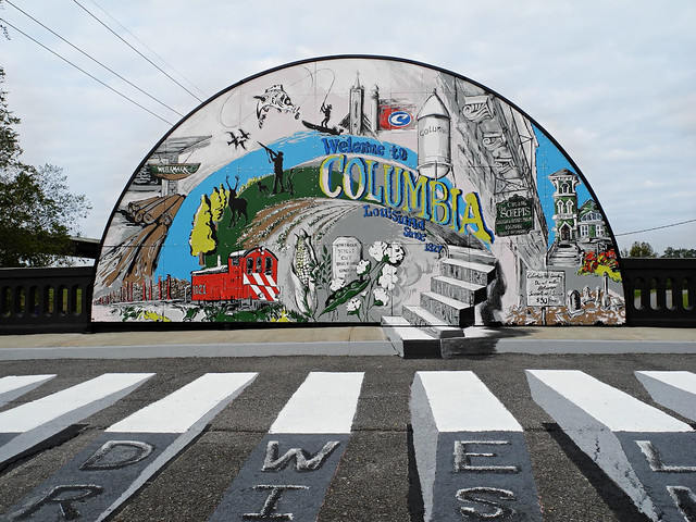 Celeste's Mural for the Town of Columbia
