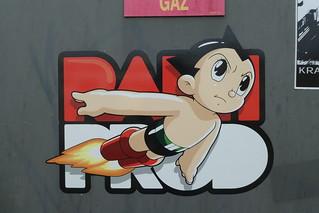 sticker, Hangar Darwin, Bordeaux