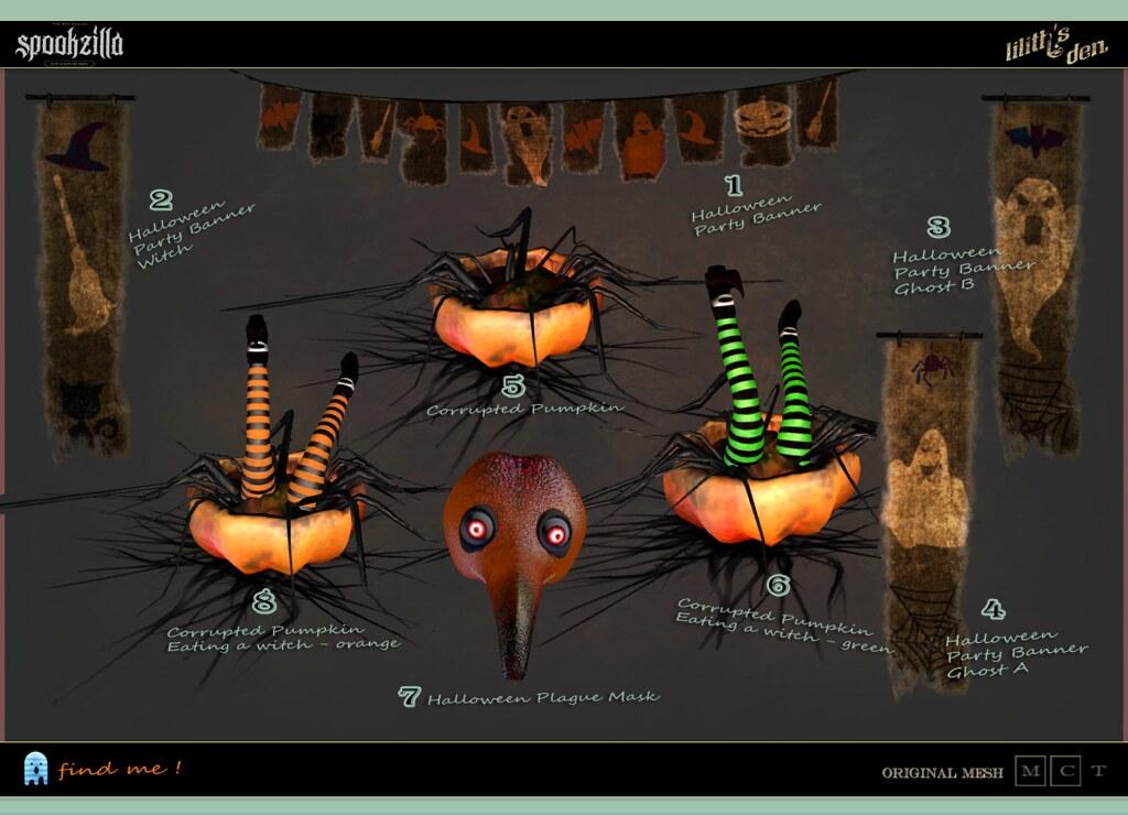 Lilith's Den – Spookzilla Hunt Key large