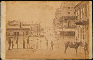 Creek Street 1893 flood