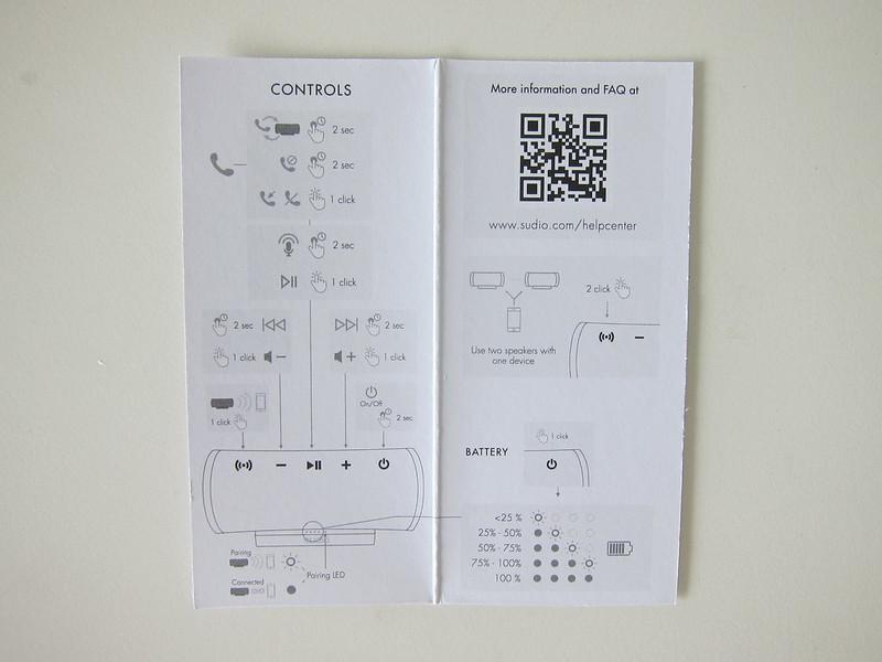 Sudio Femtio - Instructions