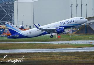 D-AVVH Airbus A320 Neo Indigo