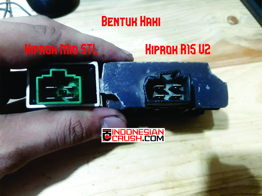 Socket Kiprok Mio vs R15