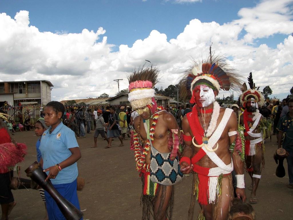 Sing-sing  à Goroka