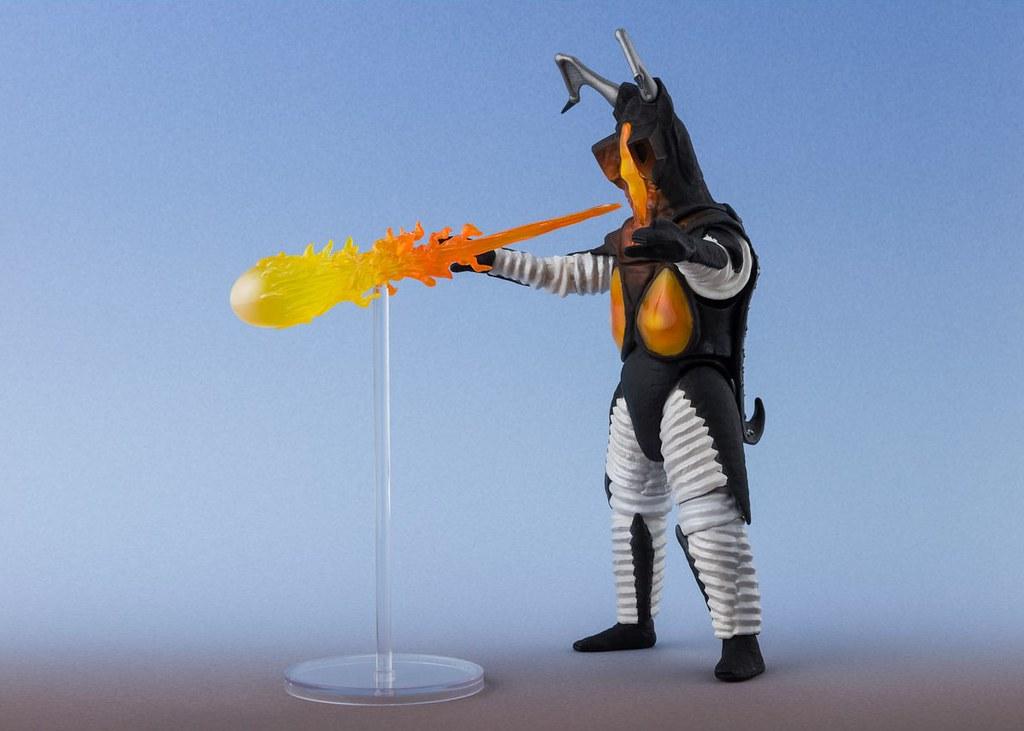 S.H.Figuarts《超人力霸王》傑頓 一兆度火球Ver. 追加漸層火焰光塗裝再次回歸!