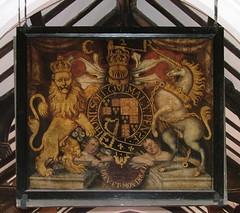 Charles II royal arms 1661