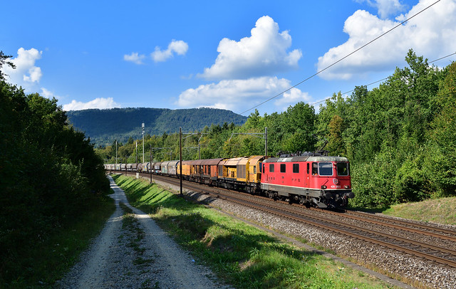 Re 4/4 420 340 Rupperswil