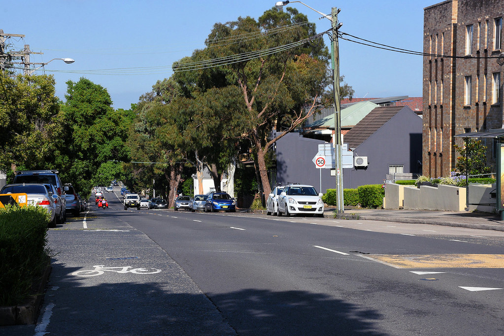 Tramway Strip, Leichhardt, Sydney, NSW.