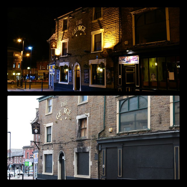 The George, Chorley 20th October 2015 & 20th October 2020