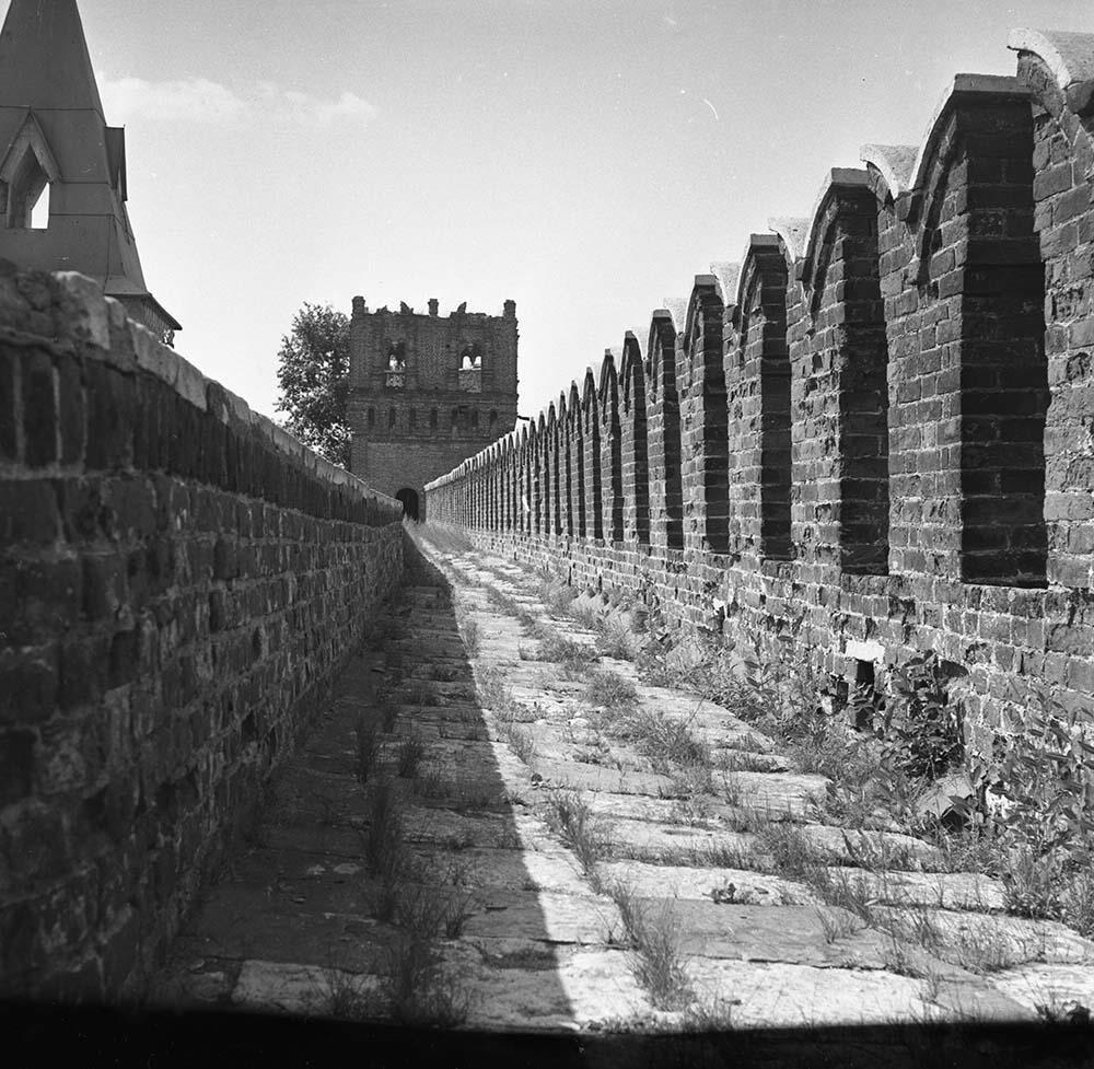 1960-е. Крепостная стена. Саввинская башня. Новодевичий монастырь