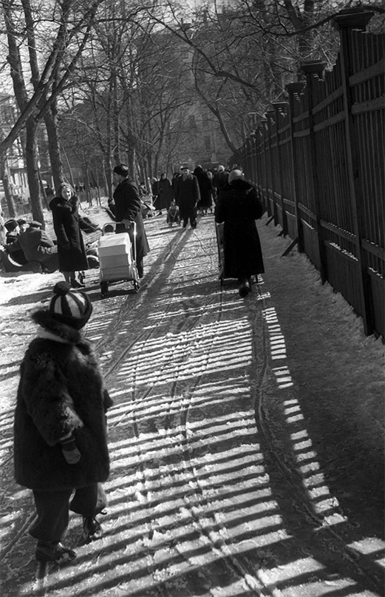 1960. Патриаршие пруды. Оттепель