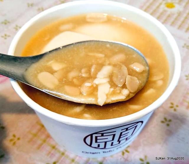 Taipei traditional dessert Tofu Pudding of 「西門町本願豆花店」, , Taipei, Taiwan, SJKen, Aug 31, 2020.