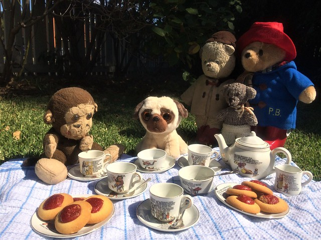 Paddington, Scout and the Teddy Bears' Picnic