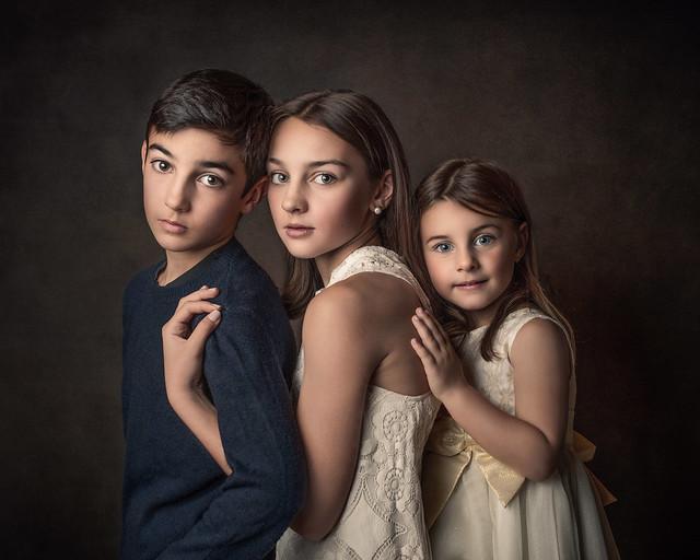 Siblings 💙💜💚