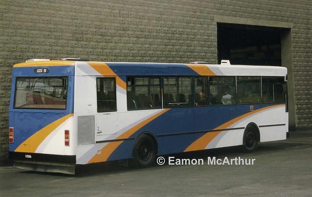 Dublin Bus KC91 (UZG91).