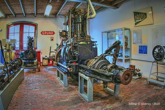 Machinekamer 8,Scheepvaartmuseum,Groningen Stad,the Netherlands