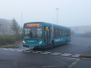 Arriva North East 1327 / YX10 EBV.