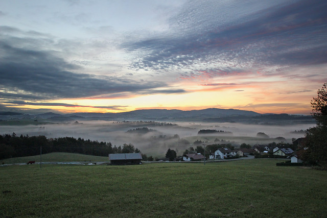 Sunrise in the Bavarian Forest IMG_6958