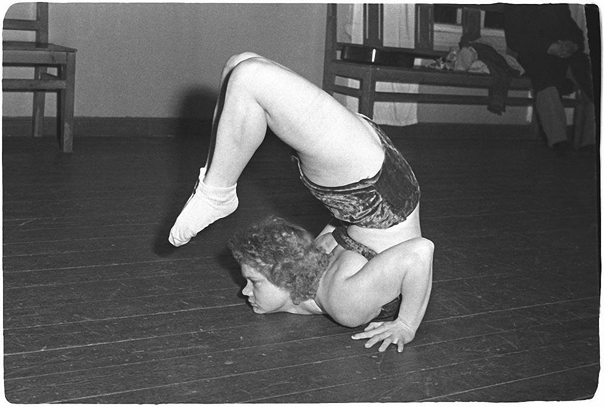 1960-е. Гимнастка