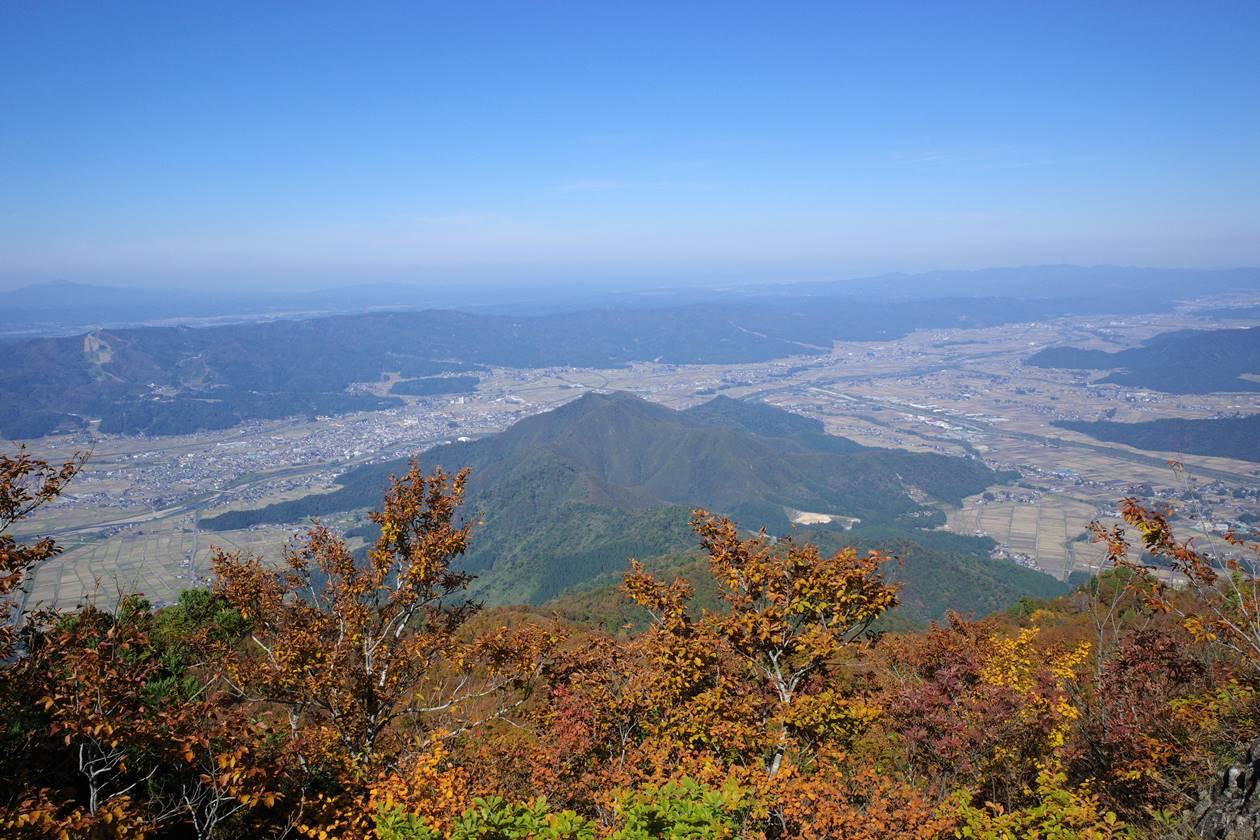 【新潟】金城山登山 山頂からの展望