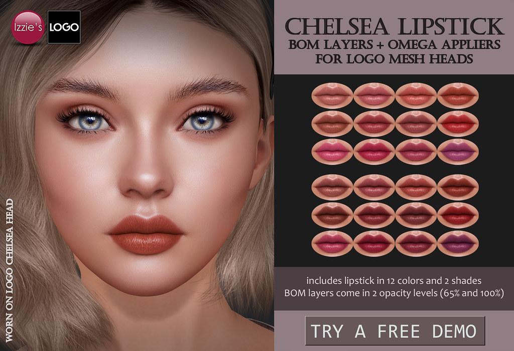 Chelsea Lipstick (LOGO)