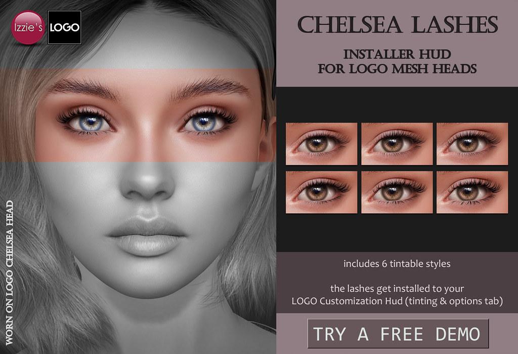Chelsea Lashes (LOGO)