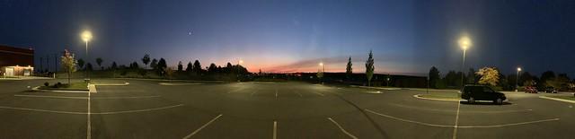 2020 294/366 10/20/2020 TUESDAY - Evening Sunset - Unenhanced