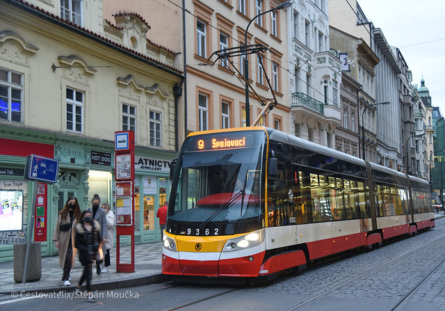 15TAlfa 9362, Prague trams, 18.10.2020