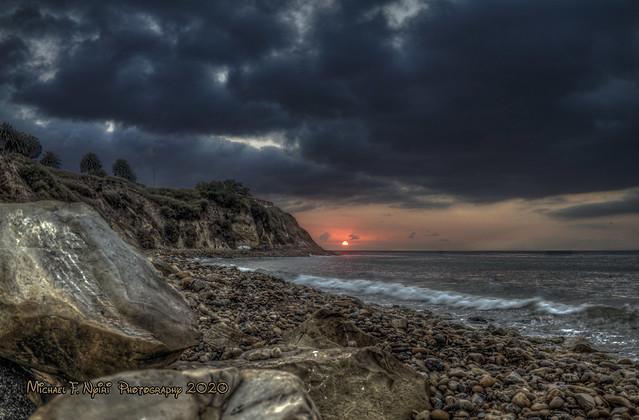 Sunset: Malaga Cove: 10-22-20
