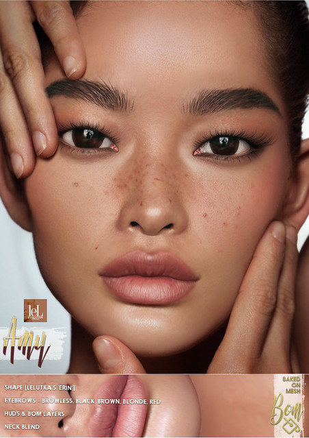 -Birth- 'Amy' Lelutka Skin Advert