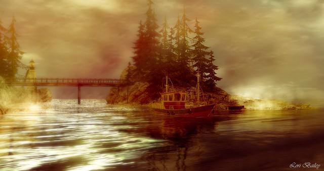 Into The Mist - #GhostsOfJerichoContest