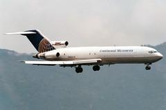 Continental Micronesia | Boeing 727-200F | N625DH | Hong Kong Kai Tak