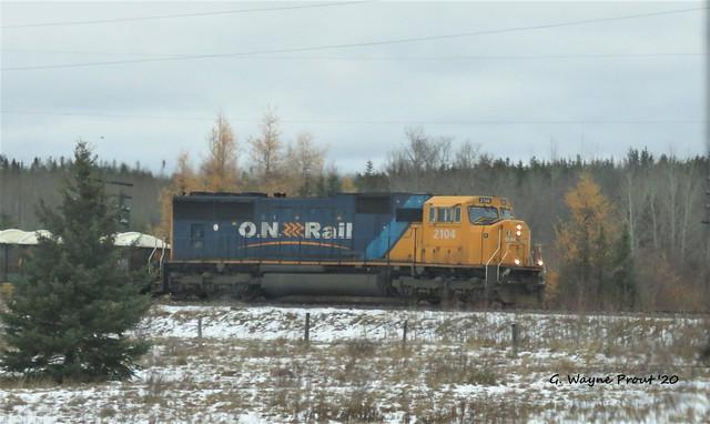 ONT 2104 Ontario Northland EMD SD75I