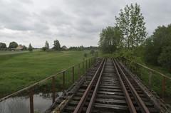 Disused railway bridge over Kukhva River, 29.05.2019.