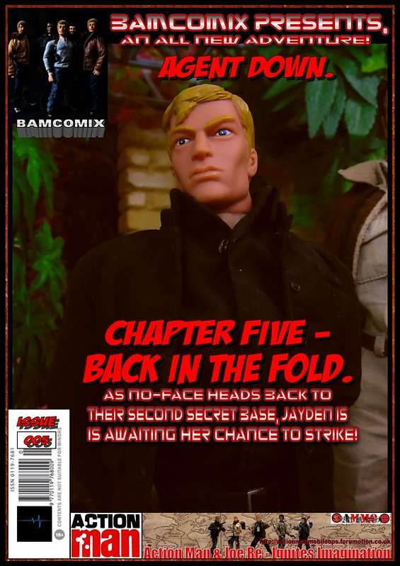 BAMComix Presents - Agent Down - Chapter Five  -  Back in the fold 50520205826_b8f86261cc_c