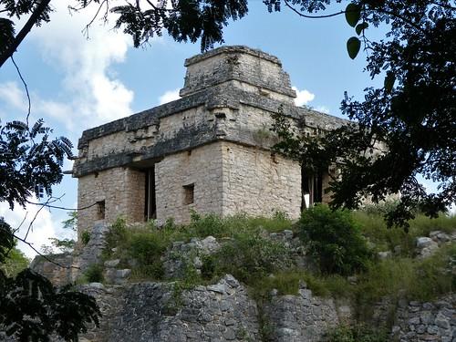 Chichén Itzá, Mexiko 2018 - Pyramide des Kukulcán. Chichén Itzá gilt als eines der