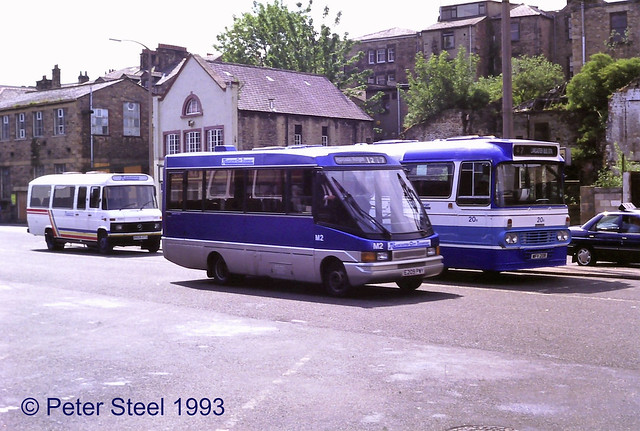 Lancaster City Transport - M2 E209PWY - Volkswagen LT55 - Optare City Pacer