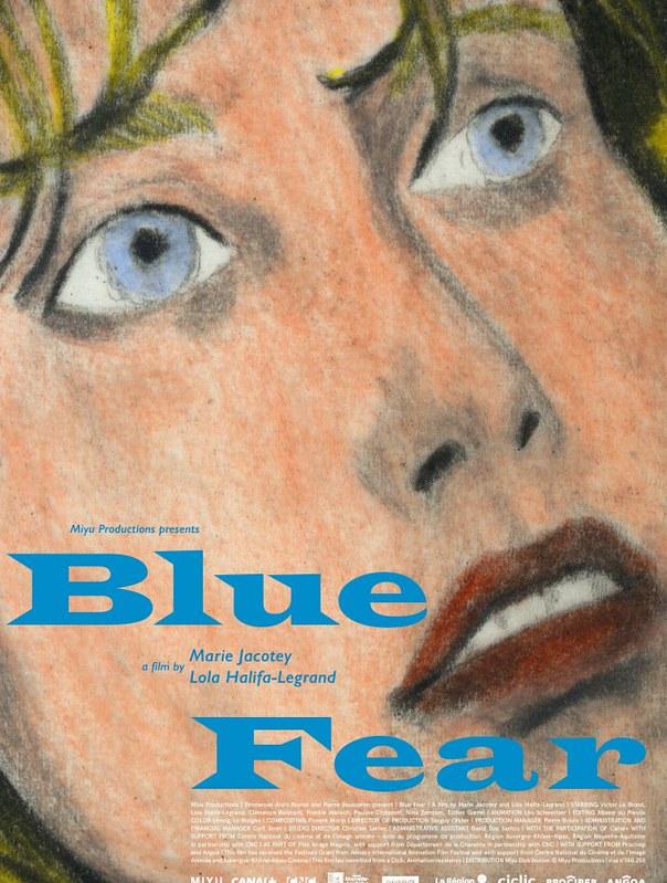 Blue Fear, cortometraje de Marie Jacotey y Lola Halifa-Legrand.