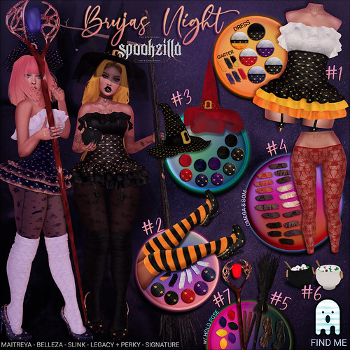 *B.D.R.* Brujas Night - Spookzilla 2020