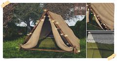 Lodge Camp Set CHEZ MOI