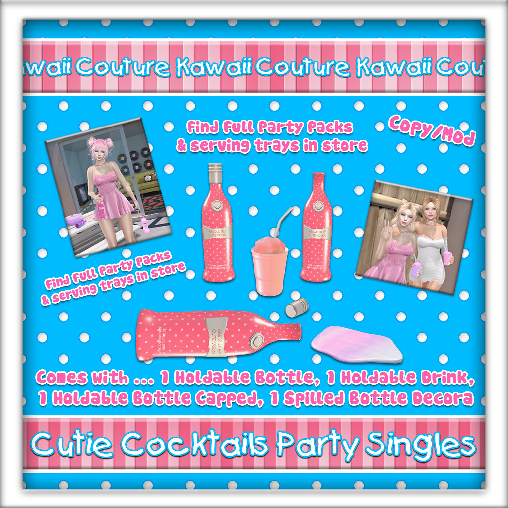 Kawaii Coutur Cutie Cocktail Party Singles  Ad – Tang