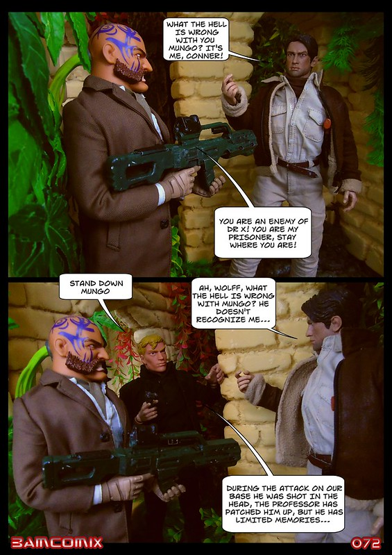 BAMComix Presents - Agent Down - Chapter Five  -  Back in the fold 50520380022_1cf8b244d2_c