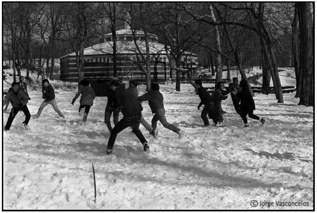 Central Park - New York City - Kodak TRIX - 12 february 1986