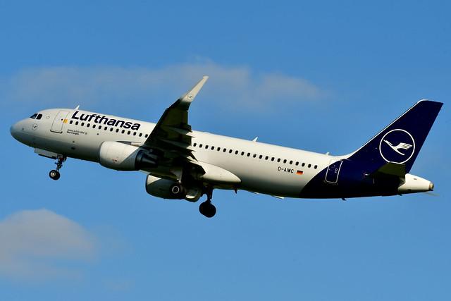 D-AIWC A320-214 cn 8667 Lufthansa 201016 Schiphol 1002